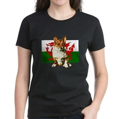Welsh Corgi Women's Dark T-Shirt