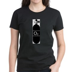 O2bottle Women's Dark T-Shirt