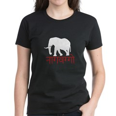 v8 evil elephant for black Women's Dark T-Shirt