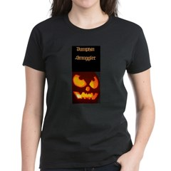 """Pumpkin Smuggler"" Women's Dark T-Shirt"