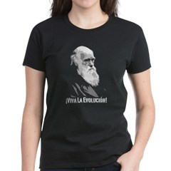 ¡Viva La Evolución! Women's Dark T-Shirt
