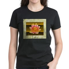 Good Morning Lotus Women's Dark T-Shirt