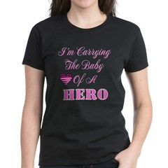 I'm carrying the baby of a He Women's Dark T-Shirt