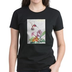 Adorable Hummers Women's Dark T-Shirt
