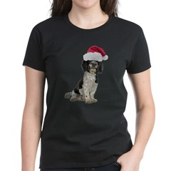 Santa Havanese Christmas Women's Dark T-Shirt