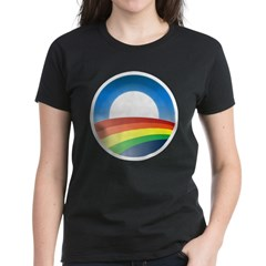 gayprideObamaO Women's Dark T-Shirt