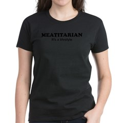 Meatitarian Women's Dark T-Shirt