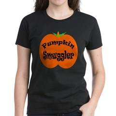 Pumpkin Smuggler Women's Dark T-Shirt