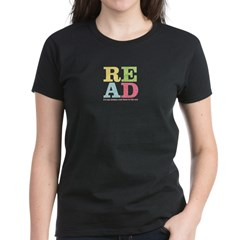 read1 Women's Dark T-Shirt