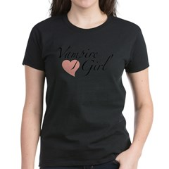Vampire Girl Women's Dark T-Shirt