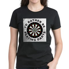 DARTBOARD/DARTS Women's Dark T-Shirt