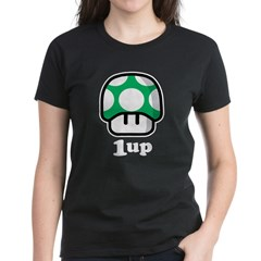 1up Mushroo Women's Dark T-Shirt