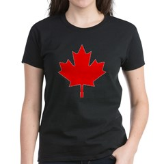 Maple Leaf Women's Dark T-Shirt