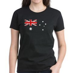 Australian Flag Women's Dark T-Shirt
