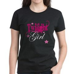 Twilight Girl Women's Dark T-Shirt