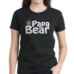 Papa Bear Claw Women's Dark T-Shirt