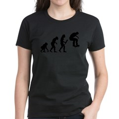 Skateboarding Women's Dark T-Shirt