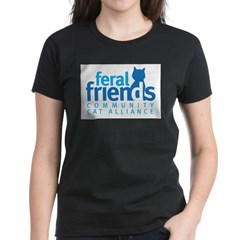 Feral Friends 2010 Logo Women's Dark T-Shirt