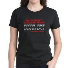 Star Trek TNG: Dr. Crusher Quote Women's Dark T-Shirt