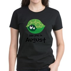 august turtle 2010 Women's Dark T-Shirt