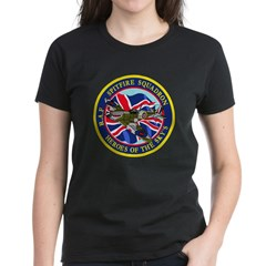 SPITFIRE w.UK flag Women's Dark T-Shirt