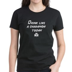 Vintage Drinking Women's Dark T-Shirt