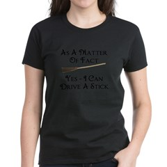 Drive A Stick - Women's Dark T-Shirt