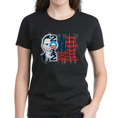 Barack Obama Women's Dark T-Shirt