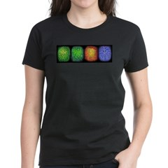 Seasons (Winter) Women's Dark T-Shirt