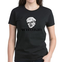 Newt Gingrich: Whore Women's Dark T-Shirt