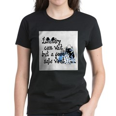 Laundry or Sale Women's Dark T-Shirt