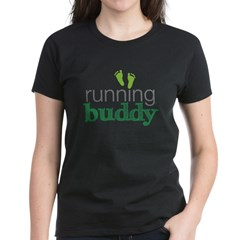 running buddy babyG Women's Dark T-Shirt