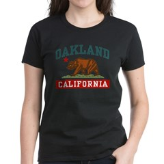 Oakland California Women's Dark T-Shirt