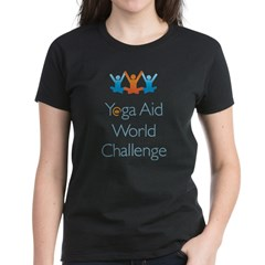 Yoga Aid World Challenge MILFORD Women's Dark T-Shirt