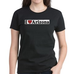 I Love Arizona Women's Dark T-Shirt