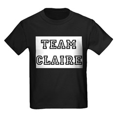 TEAM CLAIRE Infant Creeper Kids Dark T-Shirt