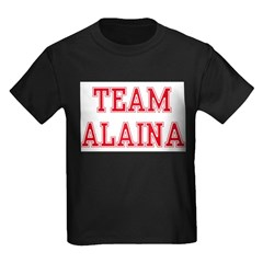 TEAM ALAINA Kids Dark T-Shirt
