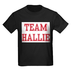 TEAM HALLIE Kids Dark T-Shirt