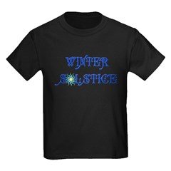 Winter Solstice Kids Dark T-Shirt