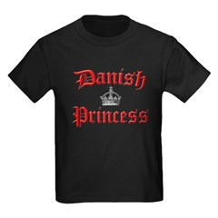 Danish Princess Kids Dark T-Shirt