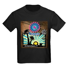Oceanic Airlines Kids Dark T-Shirt