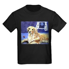 GOLDEN RETRIEVER senses moon Infant Creeper Kids Dark T-Shirt
