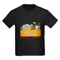 Freight Car Kids Dark T-Shirt