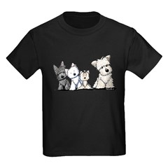 Terrier Time Kids Dark T-Shirt