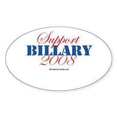 2008 Election Candidates Rectangle Sticker (Oval 10 pk)