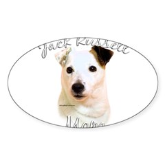 JRT Mom2 Rectangle Sticker (Oval 10 pk)