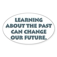 History Teacher Rectangle Sticker (Oval 10 pk)