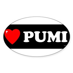 PUMI Sticker (Oval 10 pk)