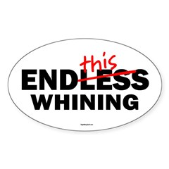 EndThis Whining Oval Sticker (Oval 10 pk)