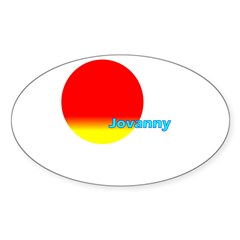 Jovanny Rectangle Sticker (Oval 10 pk)